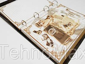Элитная книга в коже Родословная книга МАКЕЙ семейная летопись, фото 3