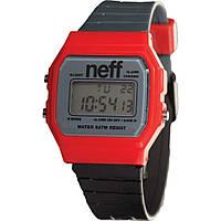 Годинник Neff - Flava Classic Watch Black/Red/Charcoal