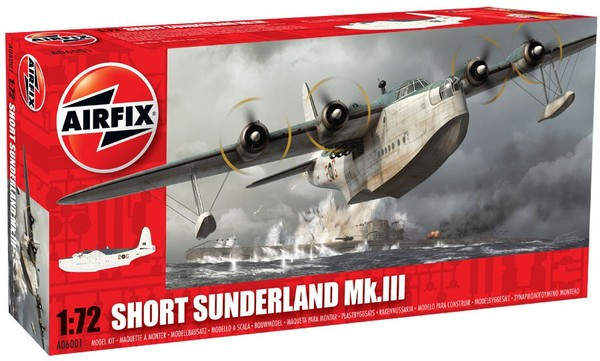Сборная модель самолета SHORT SUNDERLAND MK.III. 1/72 AIRFIX 06001