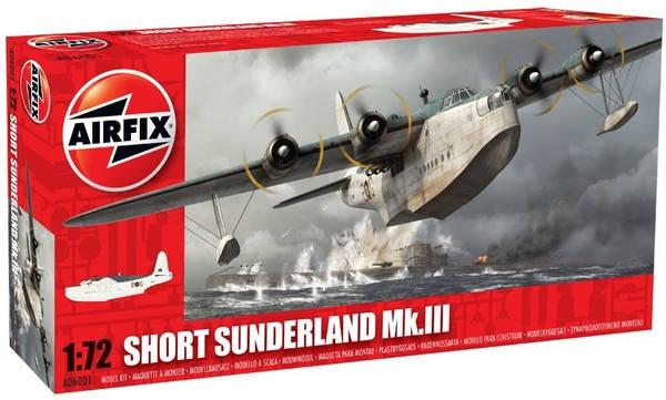 Сборная модель самолета SHORT SUNDERLAND MK.III. 1/72 AIRFIX 06001  , фото 2
