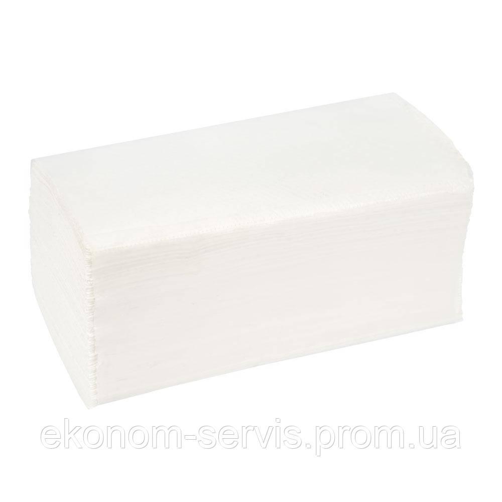 Полотенце бумажное ПП V-сложение белое, целюлоза 2сл..(200 л.)