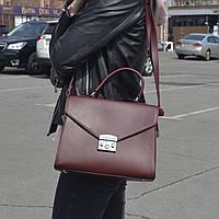 """Стильная женская повседневная сумка """"Мелисса Red Wine"""", фото 1"""