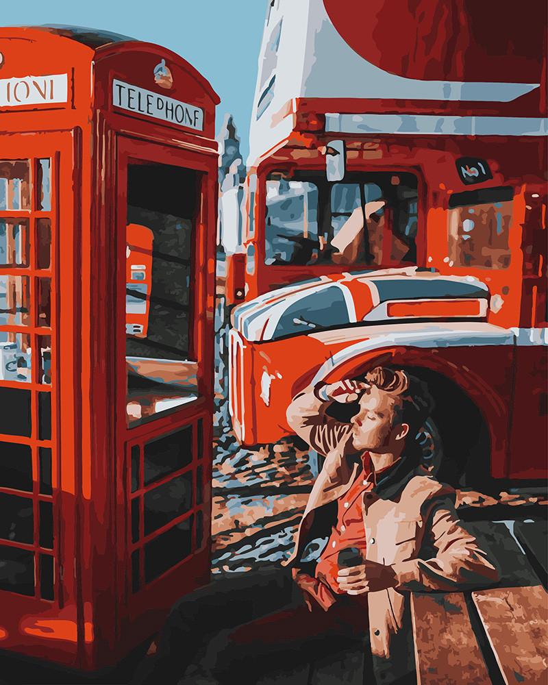 Картина по номерам Лондон Time, 40x50 см., Brushme
