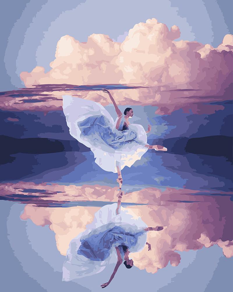 Картина по номерам Отражение легкости, 40x50 см., Brushme