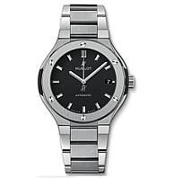 Часы Hublot Classic Fusion TITANIUM BRACELET 42mm. Реплика: ААА, фото 1