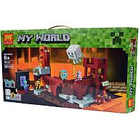 Конструктор Bela/Lele Minecraft 79147 Подземная крепость 589 деталей