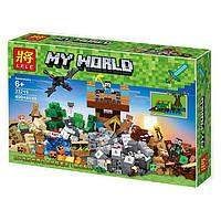 Конструктор Bela/Lele Minecraft 33219 Замок Священной войны 400+ деталей