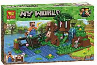 Конструктор Bela/Lele Minecraft 10961 Тренировка 226 деталей