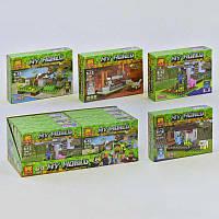 Конструктор Bela/Lele Minecraft 33000 Четыре вида (8 шт. в блоке)