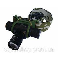Фонарик налобный фонарь Police Bailong BL-6660 1500W BL6660