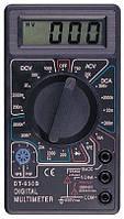Мультиметр тестер вольтметр амперметр DT-838 , вольтметр DT838