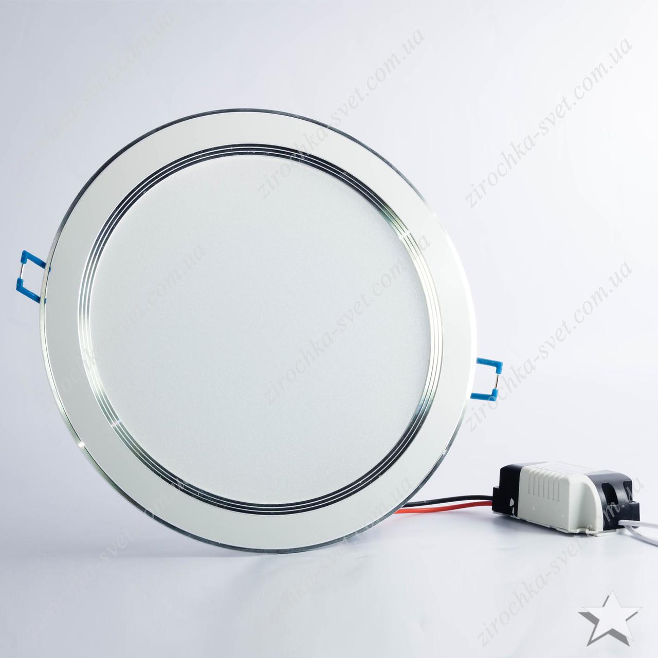 Светильник светодиодный встраиваемый 18w Feron AL527 4000К белый