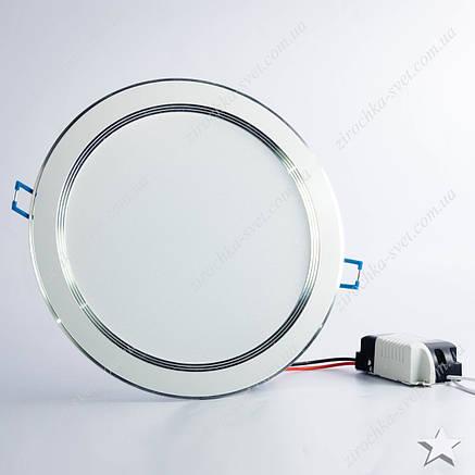 Светильник светодиодный встраиваемый 18w Feron AL527 4000К белый, фото 2