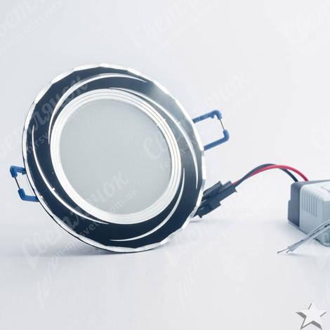 Светильник светодиодный встраиваемый 5w Feron AL777 4000К черный, фото 2