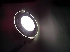 Світильник світлодіодний вбудований зі склом 6w Feron AL2110 5000К, фото 2