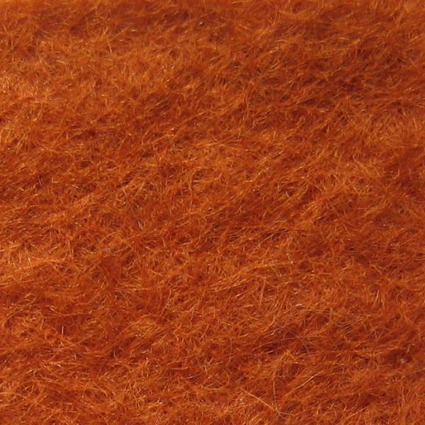 Фетр натуральный 1.3 мм, 20x30 см, ВЫГОРЕЛЫЙ ОРАНЖЕВЫЙ