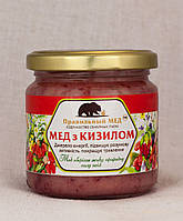 Мёд с Кизилом.  Крем-Мед с Добавками. ТМ Правильный Мед, фото 1