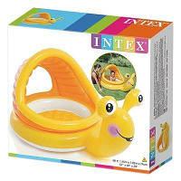 Детский надувной бассейн Интекс Улитка 145 х 102 х 74