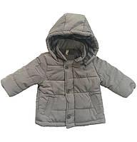 Серая куртка для мальчика, IDEXE, 7710100
