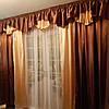"""Ламбрикен + шторы + гардина  """"Гляссе"""", комплект, фото 4"""