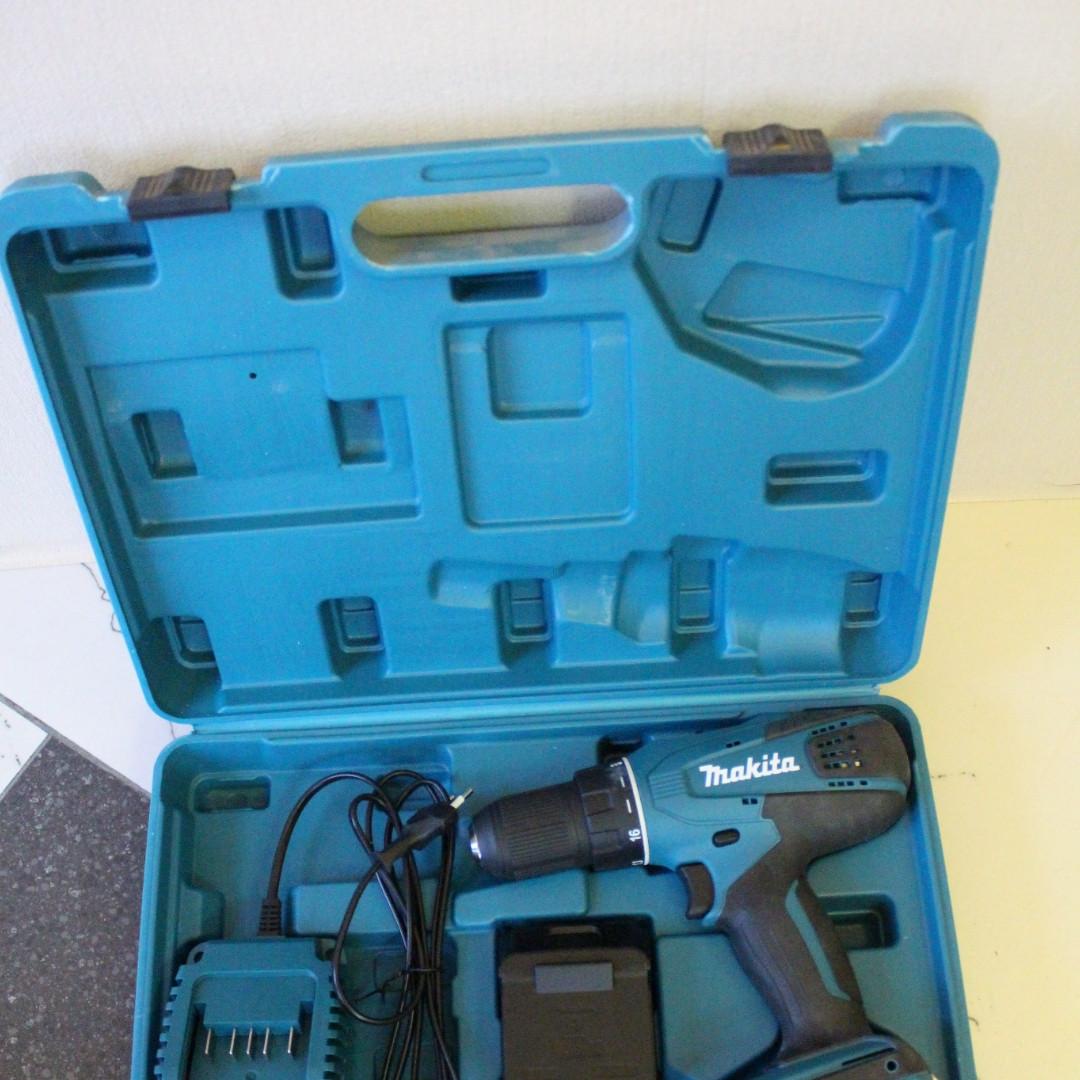Extreem Дрель-шуруповерт аккумуляторная Makita DF 457 DWE: продажа, цена в AX01