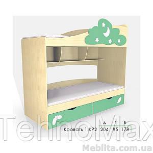 Кровать Дисней 1.КР2