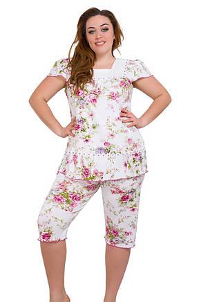 Женская пижама ткань трикотаж 1104, фото 2