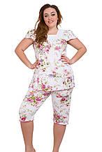Женская пижама ткань трикотаж 1104