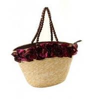 Летняя женская сумка - корзина
