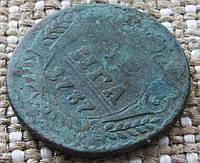 """Монета старинная """" Денга """" 1737г."""