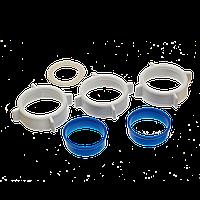 """Ремонтный набор прокладок сифона 1 1/2"""", 3 1/2""""раковина, гофросифон, кухня, ванна, душподдон, ОРИО РК№4"""