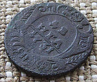 "Старая монета ""Денга"" 1731г. Анна Иоановна"