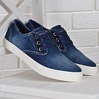 8c8fced31 Кеды мужские джинсовые слипоны Prima d'Arte Турция синие, Синий, ...
