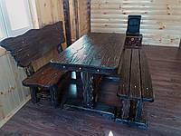 """Комплект мебели из """"старого"""" дерева"""