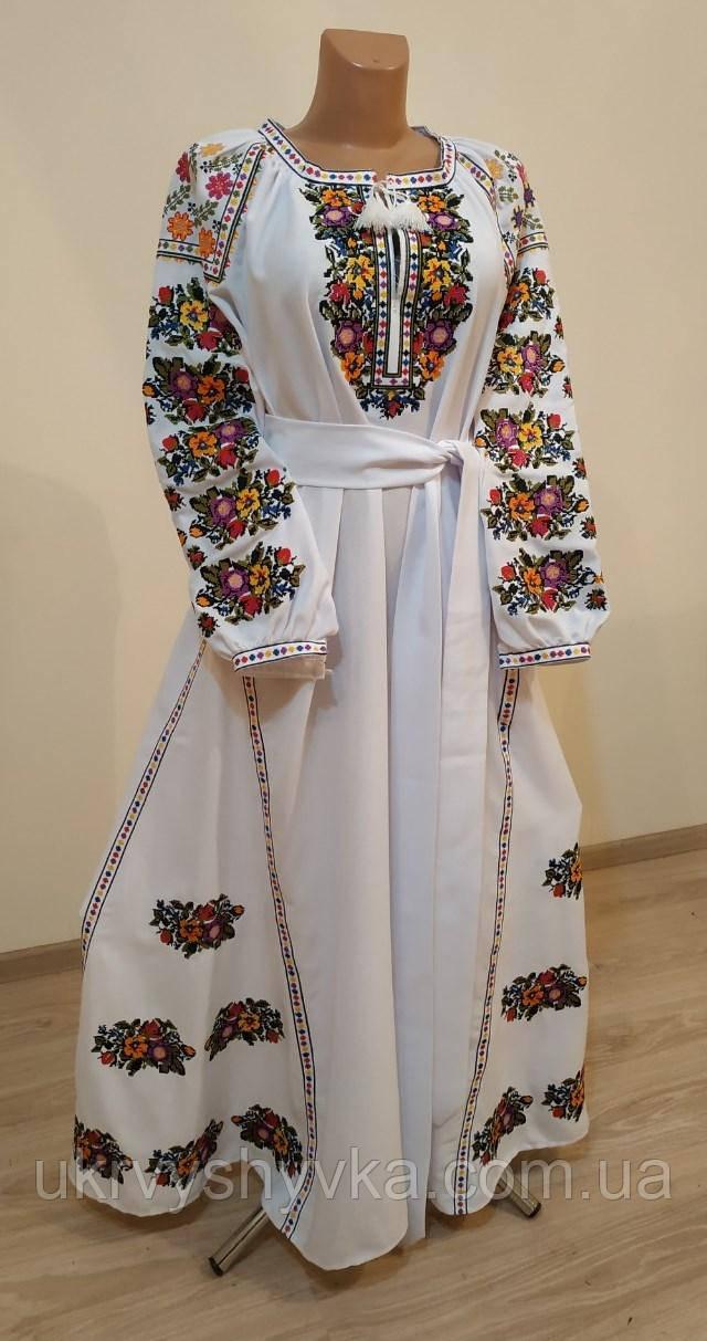 """Ексклюзивна вишита сукня """"Королівська"""""""