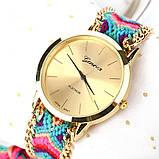 Часы веселые / цветной плетенный ремешок  / Китай, фото 2