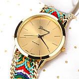 Часы веселые / цветной плетенный ремешок  / Китай, фото 5