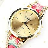 Часы веселые / цветной плетенный ремешок  / Китай, фото 6