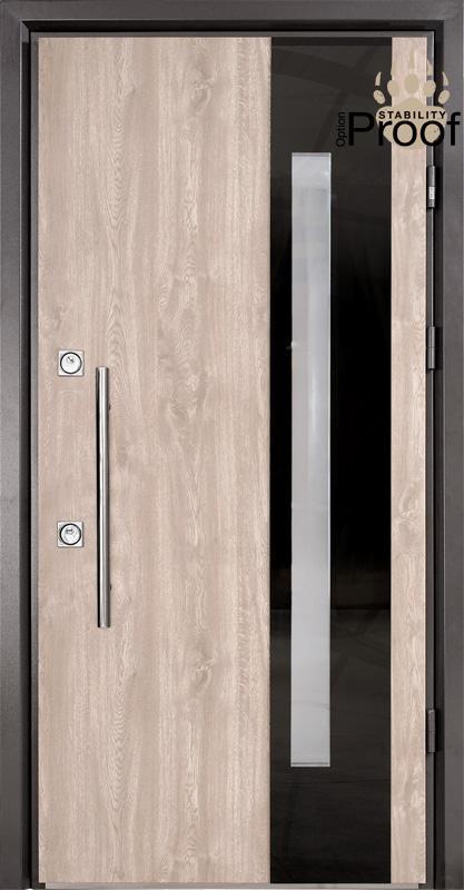 Двери уличные, STRAJ Proof, модель ESTRA, комплектация Proof Standard Hook, MUL-T-LOCK 352k