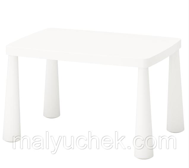 Детский стол, белый IKEA MAMMUT (503.651.77)