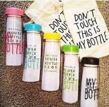 """Бутылка для воды с мешочком """"My Bottle"""" 500 мл, фото 3"""