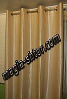 Готовые шторы блэкаут на люверсах. Цена за пару, фото 1
