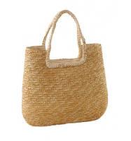 Стильная плетенная сумка
