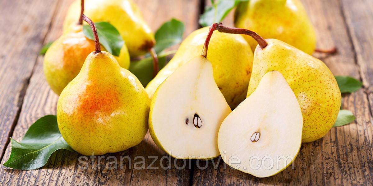 Вкусный фрукт-груша.