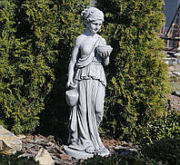 Садовая скульптура Дама с кувшином 29.5x27x85cm SS12157-16