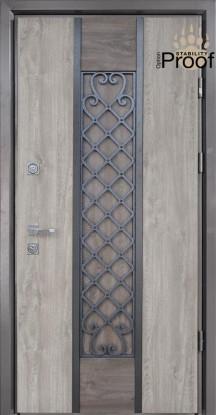 Двери уличные, STRAJ Proof, модель Классе(385), комплектация Proof Standard Hook, MUL-T-LOCK 352k