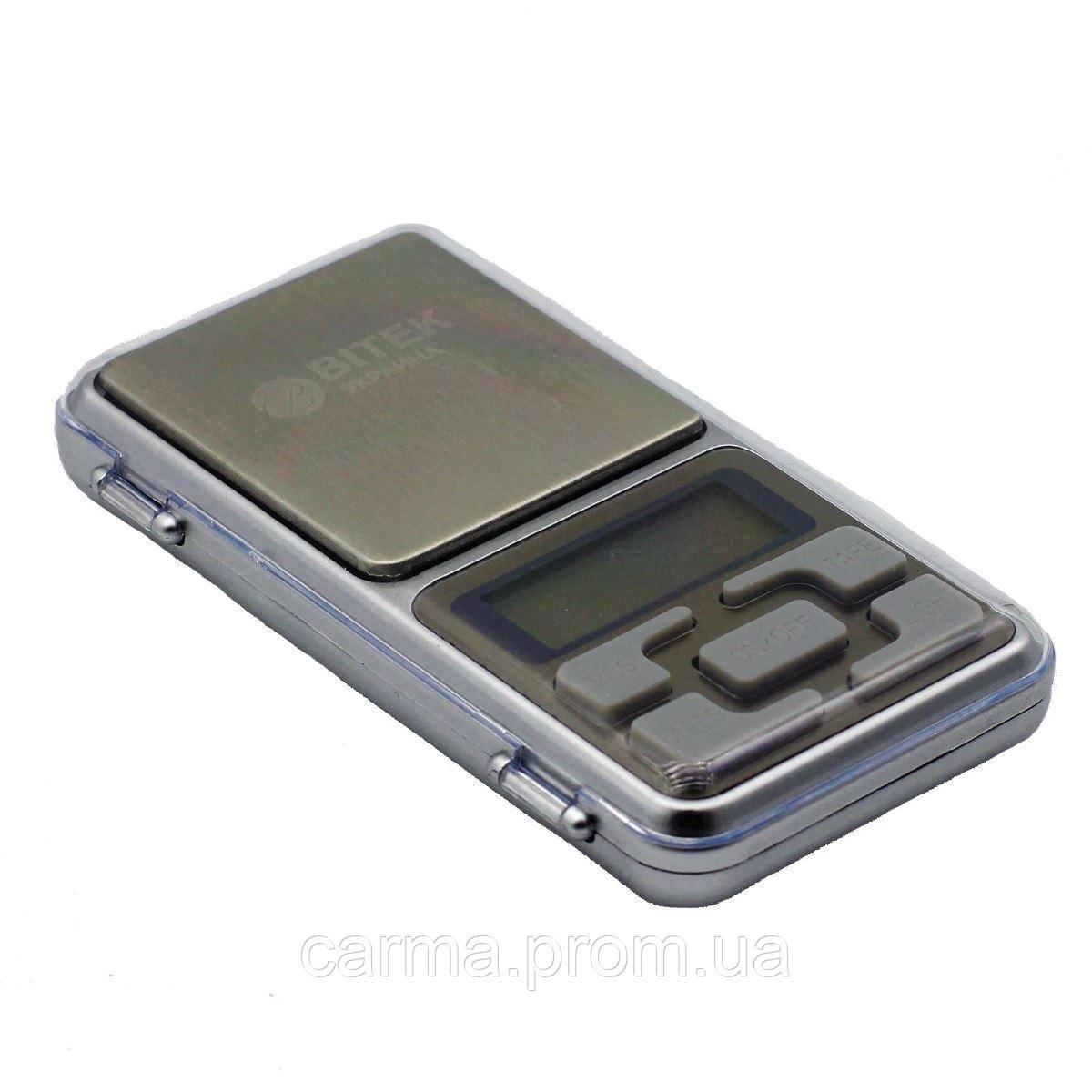Карманные ювелирные весы Pocket Scale MH 200 г
