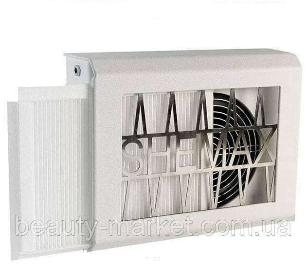 Брендированная настольная вытяжка для маникюра с фильтром SheMax, 66 ватт