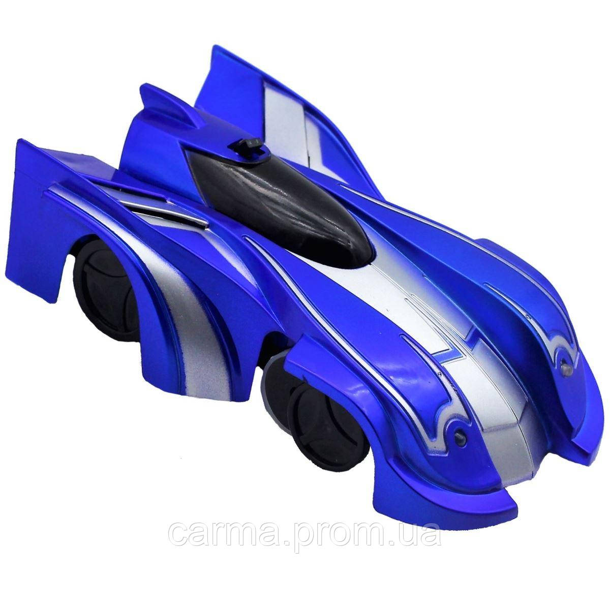 Антигравитационная машинка Car Wall Climber Синяя