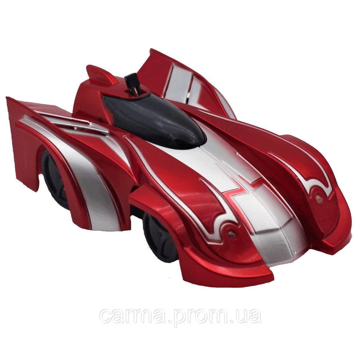 Антигравитационная машинка Car Wall Climber Красная